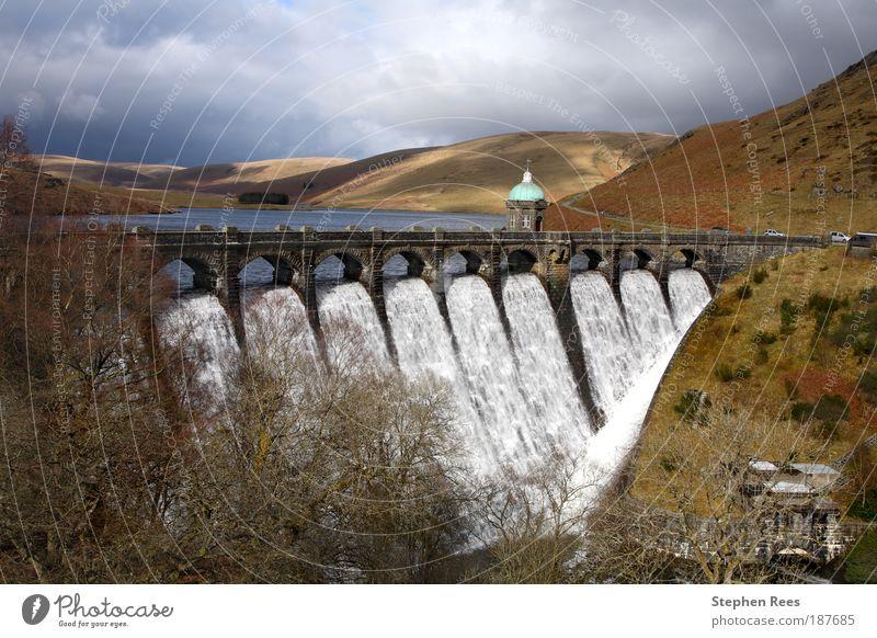 Wasser Ferien & Urlaub & Reisen Landschaft Architektur Hügel Wasserfall Tal Stausee See