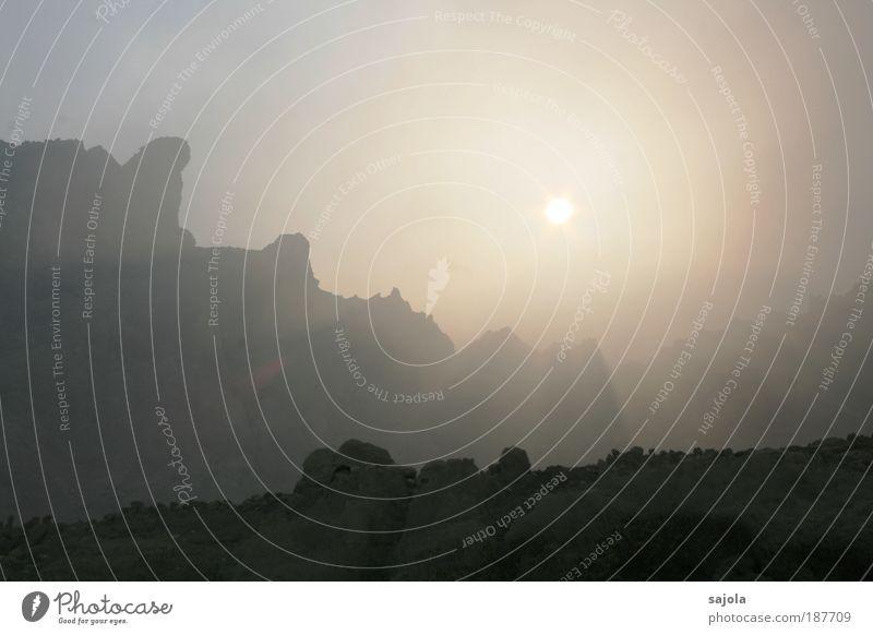 da liegt was in der luft Natur Himmel Sonne Ferien & Urlaub & Reisen Berge u. Gebirge Landschaft Umwelt ästhetisch Asien Vulkan Indonesien Schwefel gleißend