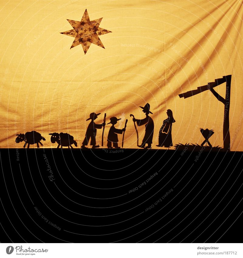 PARTY!!! Weihnachten & Advent Freude Christentum Geschenk Glück Feste & Feiern Kindheit Religion & Glaube Fröhlichkeit Hoffnung Neugier Theater Lebensfreude Bühne Schaf