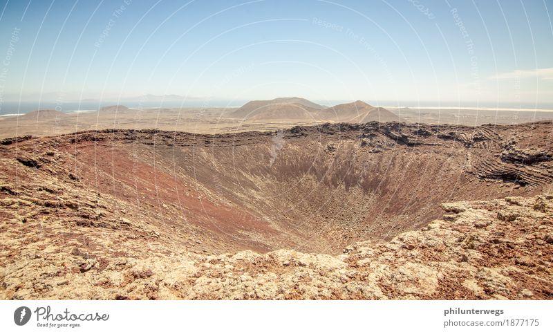 Vulcanon Freizeit & Hobby Ferien & Urlaub & Reisen Ausflug Abenteuer Ferne Freiheit Safari Expedition wandern Umwelt Landschaft Urelemente Erde Sand
