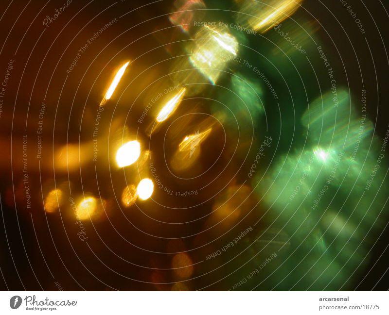 Ein Lichtspiel Beleuchtung Glas fein Whiskey