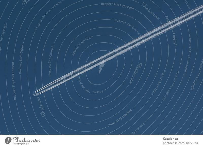 Das Salz der Wetterküche Ferien & Urlaub & Reisen blau Umwelt fliegen Tourismus Verkehr Luftverkehr Wassertropfen Klima Schönes Wetter Güterverkehr & Logistik