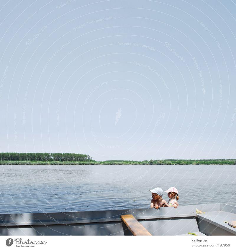 donauwalzer Mensch Kind Natur Mädchen Sommer Freude Ferien & Urlaub & Reisen Leben Junge Spielen Kopf See Küste Ausflug Lifestyle Abenteuer