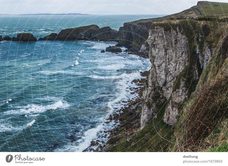 strandurlaub 2. Natur Landschaft Frühling Sommer Herbst Schönes Wetter schlechtes Wetter Wind Wiese Hügel Küste Bucht Riff Nordsee Meer Insel frisch Gesundheit
