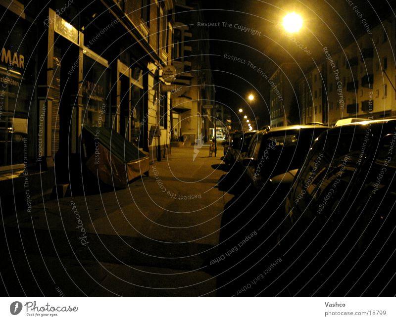 Optik der Nacht Stadt alt