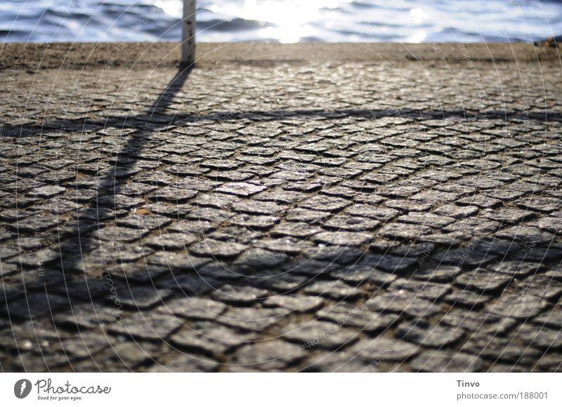 es wartet schon ein neues Jahr... Wasser Erholung Gefühle Glück träumen See Zufriedenheit Küste Hoffnung Zukunft Ziel Sehnsucht Morgen Wege & Pfade