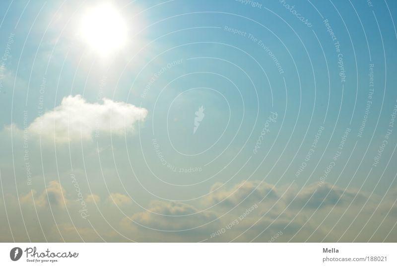 Hallo 2010! Natur blau Sonne Wolken Umwelt natürlich Religion & Glaube Glück Freiheit hell Horizont Wetter Luft leuchten frei Fröhlichkeit