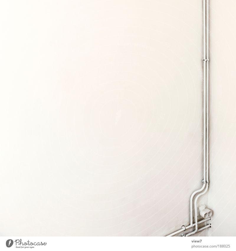 formschön. Häusliches Leben Wohnung Innenarchitektur Raum Energiewirtschaft Stein Beton Metall Zeichen Linie alt ästhetisch außergewöhnlich dünn eckig einfach