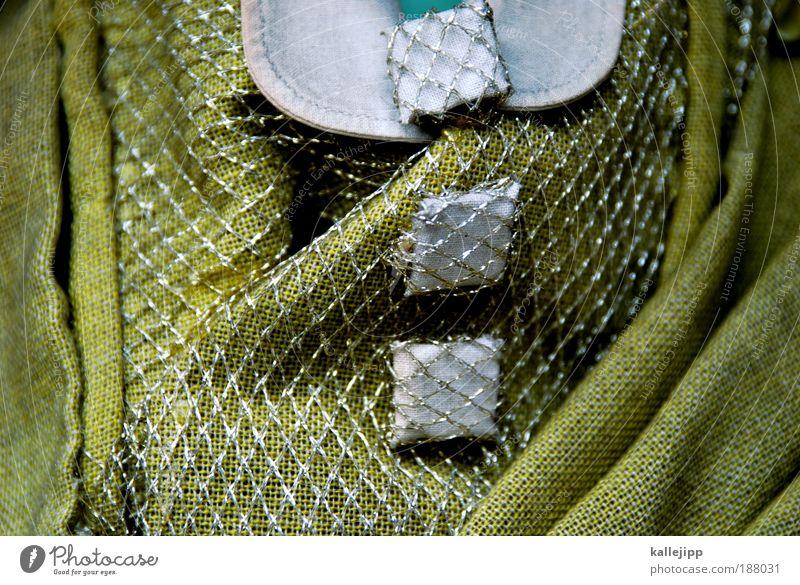 grün, grün, grün sind alle meine kleider ... Lifestyle Stil Kunst Theater Oper Mode Bekleidung Hemd Rock Stoff Accessoire Schmuck schön Knöpfe Kragen Gitter