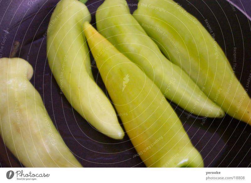 Paprika grün Gemüse
