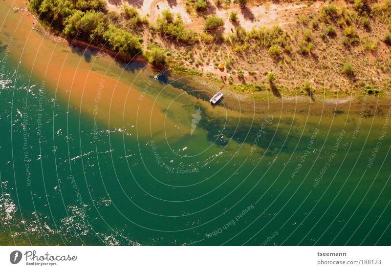 Camping im Grünen Natur Wasser grün Freude Ferien & Urlaub & Reisen Ferne Erholung Berge u. Gebirge Landschaft Glück Sand Küste Park Wasserfahrzeug