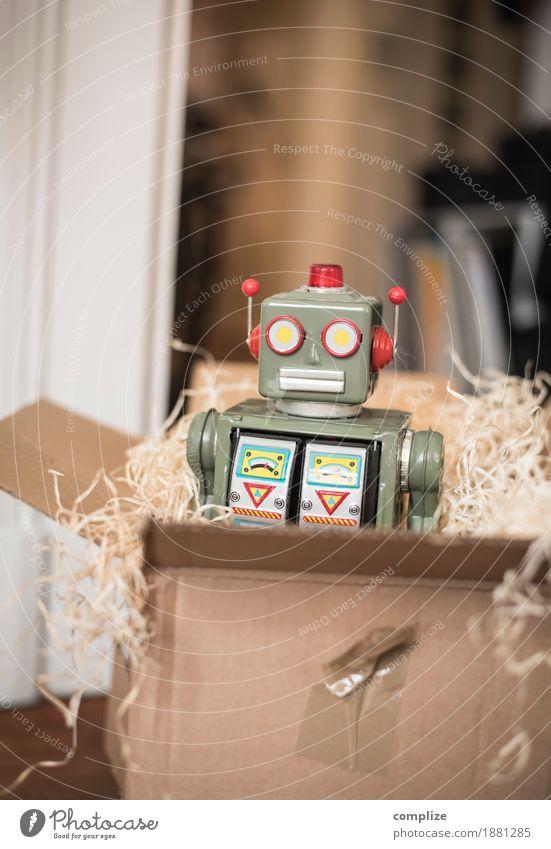 Weihnachtsgeschenk Freude Glück Party Design Wohnung Freizeit & Hobby retro Technik & Technologie Geburtstag Zukunft Computer Geschenk Güterverkehr & Logistik