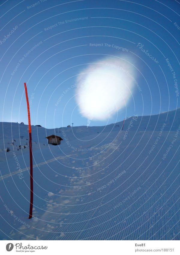 A.L.I.E.N.S. go skiing?? Sonne Winter Schnee Winterurlaub Berge u. Gebirge Sport Wintersport Skifahren Skipiste Natur Landschaft Himmel Wolken Wetter