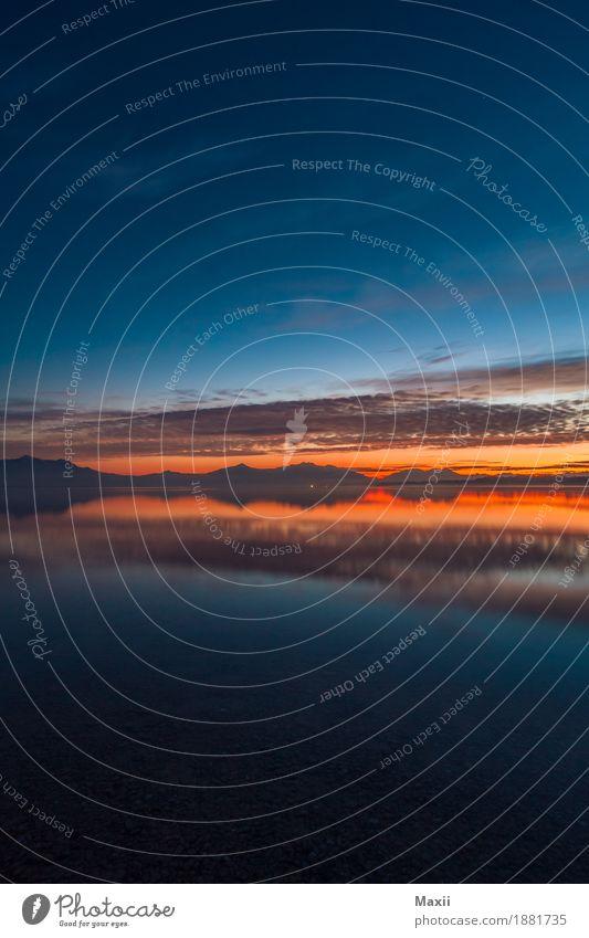 Chiemsee Hochformat Sonnenuntergang Umwelt Landschaft Himmel Wolken Nachthimmel Sonnenaufgang Schönes Wetter Alpen Berge u. Gebirge Seeufer Wärme Farbfoto