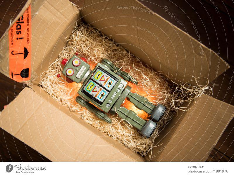 Roboter Körper Spielen Weihnachten & Advent Geburtstag Spielzeug Dose Kasten Überraschung Geschenk Weihnachtsgeschenk Geburtstagsgeschenk schenken Kiste