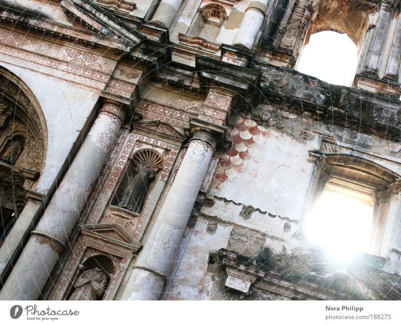 Land der tausend Morgen Ferien & Urlaub & Reisen Tourismus Ausflug Ferne Sightseeing Städtereise Sonne Antigua Guatemala Kleinstadt Altstadt Kirche