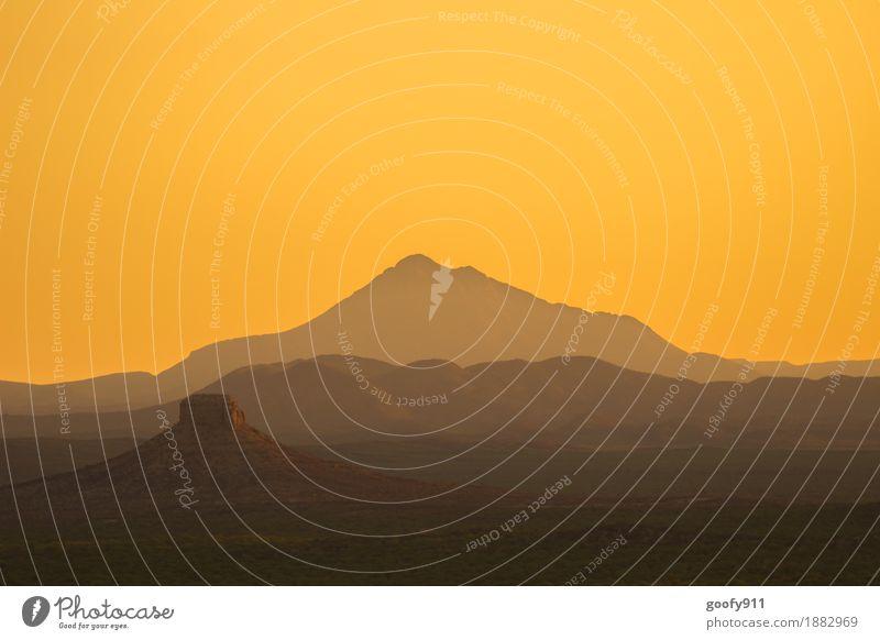 Ugab Terrace (Namibia) Himmel Natur Ferien & Urlaub & Reisen Sommer schön Sonne Landschaft ruhig Ferne Berge u. Gebirge Wärme Umwelt Frühling Freiheit Sand Horizont