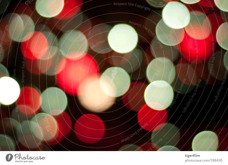 Weihnachten & Advent rot ruhig Lampe dunkel hell glänzend Hintergrundbild abstrakt Kreis Frieden Nachthimmel Kugel Gelassenheit leuchten
