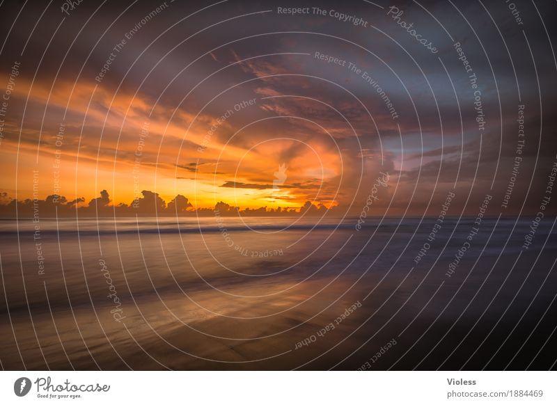Es war einmal........ Abenteuer Ferne Freiheit Expedition Sommer Sonne Strand Meer Wellen Umwelt Natur Sand Wasser Himmel Wolken Sonnenlicht Küste entdecken