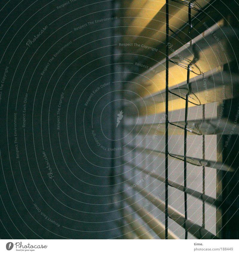 Lichtschneider ruhig Ferne Fenster Freiheit träumen Metall Design geschlossen Hoffnung Metallwaren Konzentration entdecken Verbindung Kontrolle Tiefenschärfe