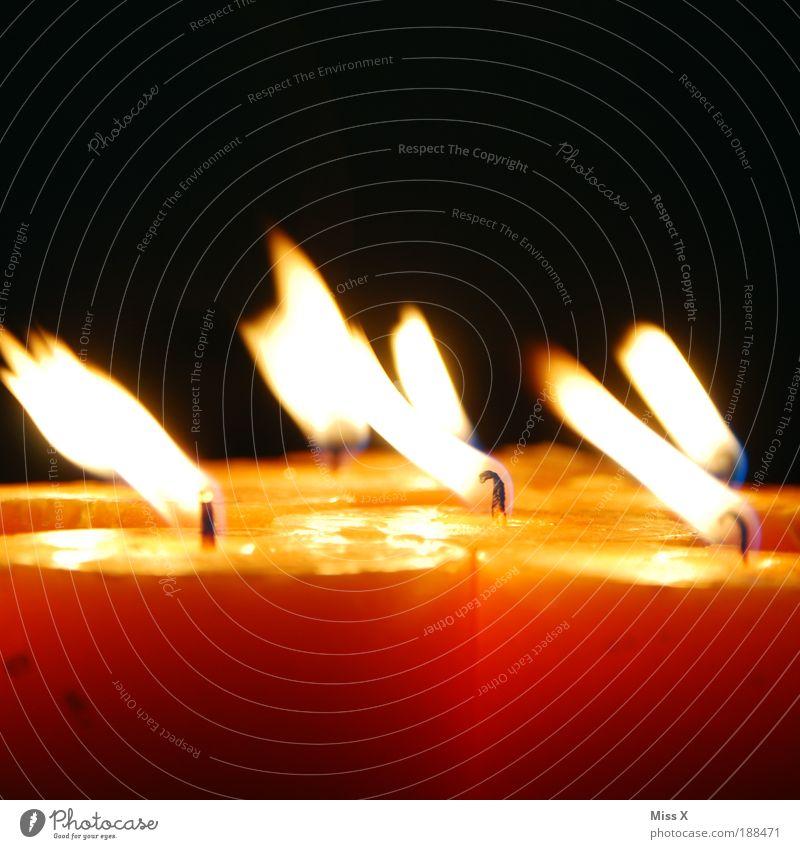 Auspusten dunkel hell Feste & Feiern Wind Feuer Kerze Farbfoto Dekoration & Verzierung Wunsch leuchten Duft blasen positiv Flamme Kerzenschein