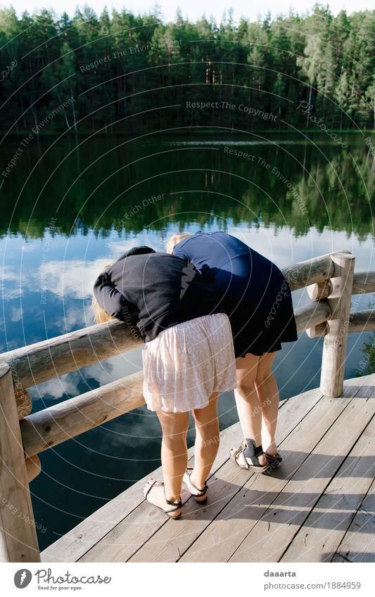Was ist unter Wasser? Lifestyle elegant Stil Freude Leben harmonisch Freizeit & Hobby Spielen Ferien & Urlaub & Reisen Ausflug Abenteuer Freiheit Garten feminin