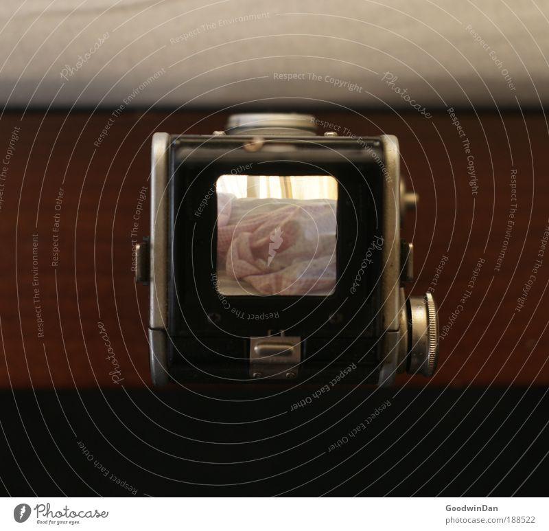 morning view Wärme frei außergewöhnlich Bett Neugier einfach Fotokamera entdecken eckig Sammlerstück