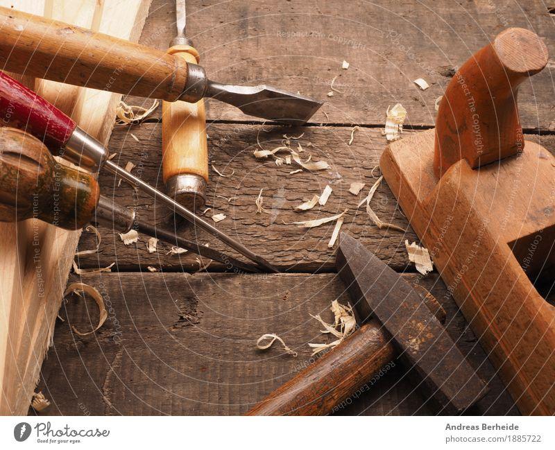 Altes Werkzeug Erwachsenenbildung Beruf Handwerk Baustelle Holz alt retro wood tools carpenter joinery woodwork woodworking wooden timber screw bench workbench