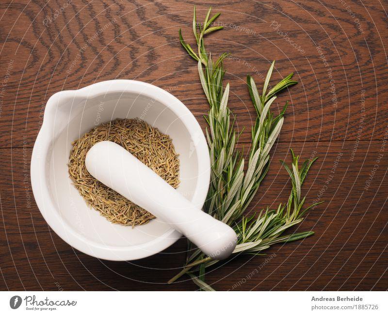 Rosmarin Kräuter & Gewürze Bioprodukte Duft lecker organic cooking herbal fresh herbs leaves food natural health flavor culinary aromatic ceramic ingredients
