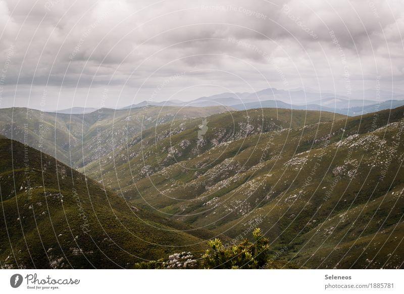 mit Aussicht Himmel Natur Ferien & Urlaub & Reisen Landschaft Erholung Einsamkeit Wolken ruhig Ferne Berge u. Gebirge Umwelt Freiheit Felsen Tourismus Horizont
