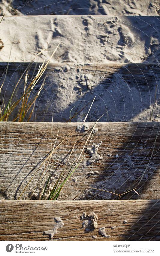 Strandleben IV Natur Sand Treppe Zufriedenheit ästhetisch Ostsee Urlaubsfoto Dünengras Urlaubsstimmung Ostseeinsel