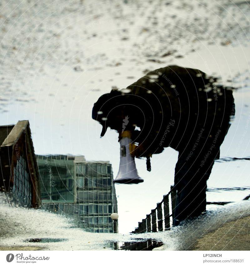 Hip Hop is dead Nr.2 Entertainment Diskjockey maskulin Mann Erwachsene 1 Mensch Kunst Künstler Veranstaltung Open Air Wasser Gebäude Architektur Mütze sprechen