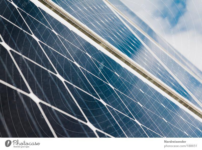Zukunft Umwelt Linie Nahaufnahme Energiewirtschaft ästhetisch Erfolg neu Strukturen & Formen Zukunft Hoffnung Industrie Technik & Technologie Beruf Wissenschaften Sonnenenergie bauen