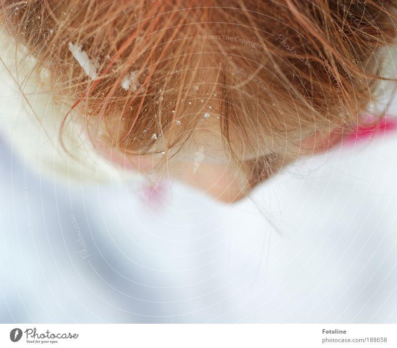 Wie schön Winter sein kann! Mensch Kind Natur Wasser weiß Mädchen Gesicht gelb Umwelt kalt Schnee Kopf Haare & Frisuren Schneefall Wetter