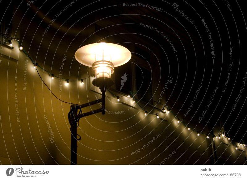 lichterfest grün schön ruhig schwarz gelb Straße dunkel Gebäude Metall hell braun Zufriedenheit Freizeit & Hobby Glas Fassade Dekoration & Verzierung