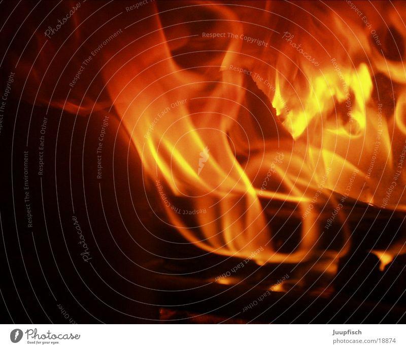 Feuer Brand Romantik Dinge brennen Kamin