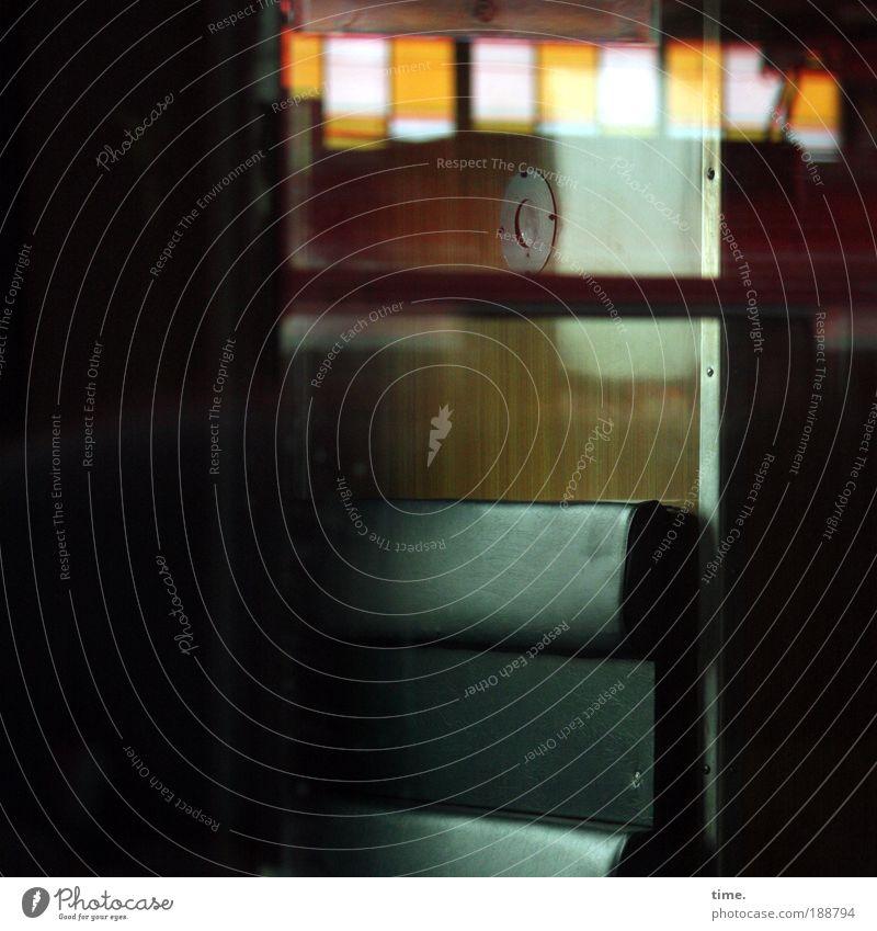 Rail Movie grün Fenster Stimmung Eisenbahn Güterverkehr & Logistik Bank Sitzgelegenheit Sitz Zugabteil Eisenbahnwaggon Öffentlicher Personennahverkehr Abteilfenster