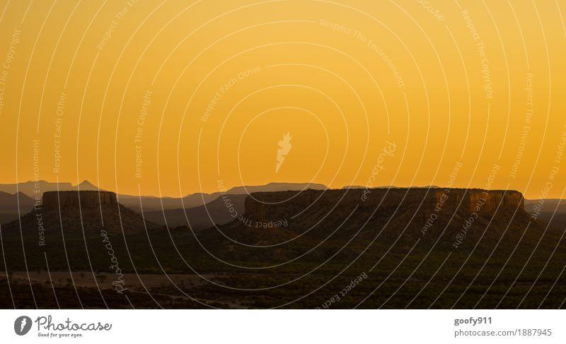 Ugab Terrace (Namibia) Himmel Natur Ferien & Urlaub & Reisen Sommer schön Landschaft ruhig Ferne Berge u. Gebirge Umwelt Frühling Glück Freiheit Sand Horizont