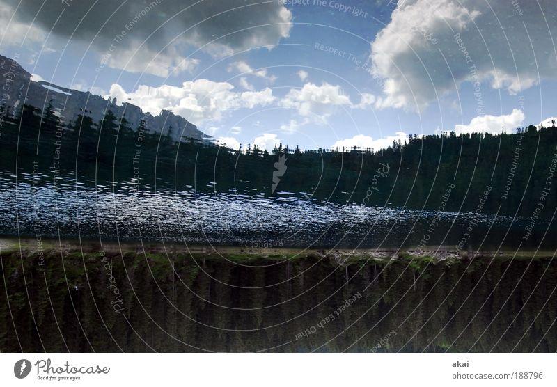 4......Jahre PC Natur Landschaft Luft Wasser Wolken Schönes Wetter blau Farbfoto Außenaufnahme Textfreiraum unten Tag Reflexion & Spiegelung