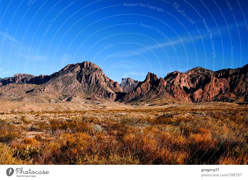 Natur Himmel Baum blau rot Ferien & Urlaub & Reisen Farbe Berge u. Gebirge Park Sand Landschaft Felsen hoch Platz USA