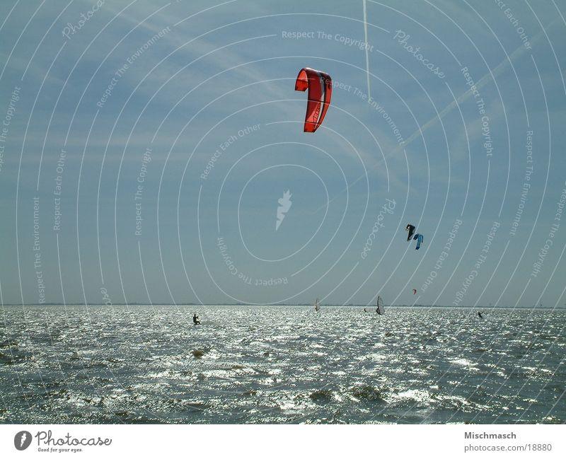Kitesurfen Wasser Sonne Sport Kiting