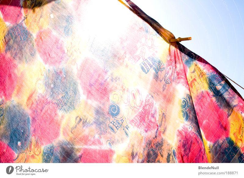 canvas? Himmel Ferien & Urlaub & Reisen blau Sommer Sonne rot gelb Stil außergewöhnlich Freiheit Design frei Fröhlichkeit ästhetisch verrückt Schönes Wetter