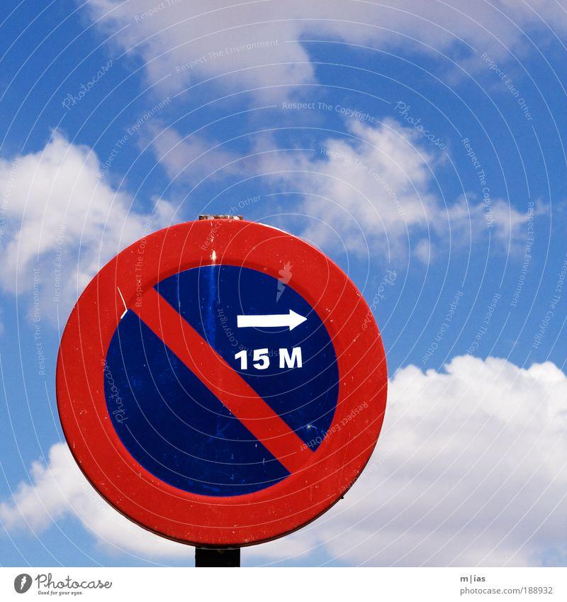 Parken erlaubt. Sommer Ferne Erholung Tod Freiheit Freizeit & Hobby Schilder & Markierungen Geschwindigkeit Luftverkehr Güterverkehr & Logistik Hinweisschild