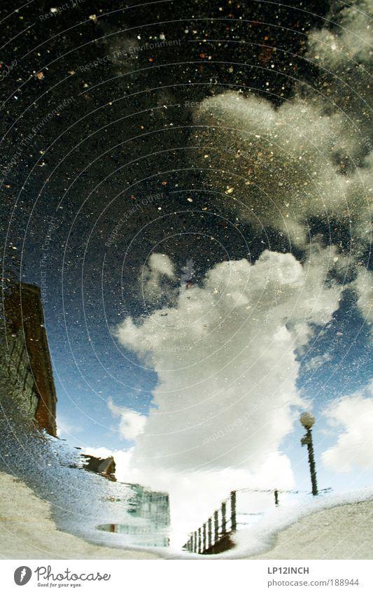 Pe PÄMM ..I.. Ausflug Ferne Expedition Wasser Himmel Wolken Hafenstadt Menschenleer Haus beobachten glänzend Ferien & Urlaub & Reisen träumen außergewöhnlich