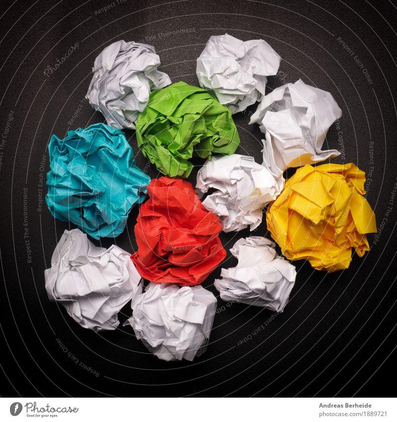 Viele bunte Ideen Business Kraft Kommunizieren Erfolg Kreativität Symbole & Metaphern Zusammenhalt Inspiration Werkstatt Teamwork Begeisterung Optimismus