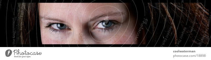 PanoEyes Frau Gesicht Auge Haare & Frisuren Haut Wimpern Porträt