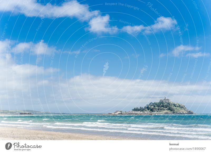 St. Michael Himmel Ferien & Urlaub & Reisen blau Sommer schön Meer Landschaft Wolken ruhig Ferne Strand Umwelt außergewöhnlich Freiheit hell Ausflug
