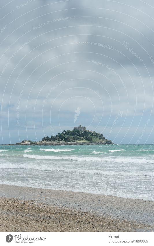 Michael Himmel Natur Ferien & Urlaub & Reisen Sommer Wasser Landschaft Meer Erholung Wolken ruhig Ferne Strand Umwelt Küste Gebäude Tourismus