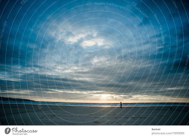 Black and Blue ruhig Freizeit & Hobby Ferien & Urlaub & Reisen Tourismus Ausflug Abenteuer Ferne Freiheit Mensch 1 Umwelt Natur Himmel Wolken Sonnenlicht Sommer