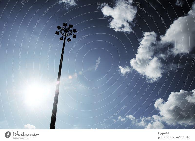 Italienisches Licht Himmel Sonne blau Freiheit Stahl Schönes Wetter